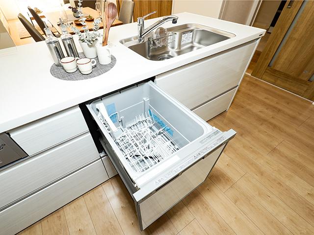 (同仕様写真) 浄水器付きのため、安心してご利用いただけます。