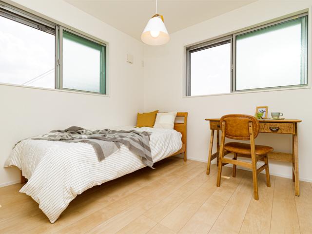 お子様のお部屋としてベッドや机を配置しても広々とした住空間を確保できます