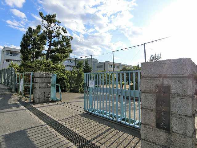 「枚方市立津田中学校」まで徒歩約8分(約644m)