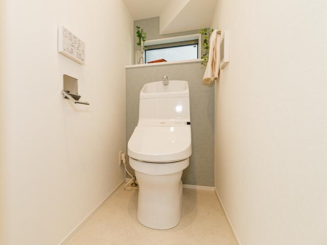 2階にもトイレを設置、深夜に1階に下りなくても大丈夫ですね