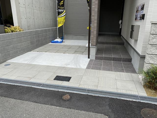 1台分の駐車スペースがあります!