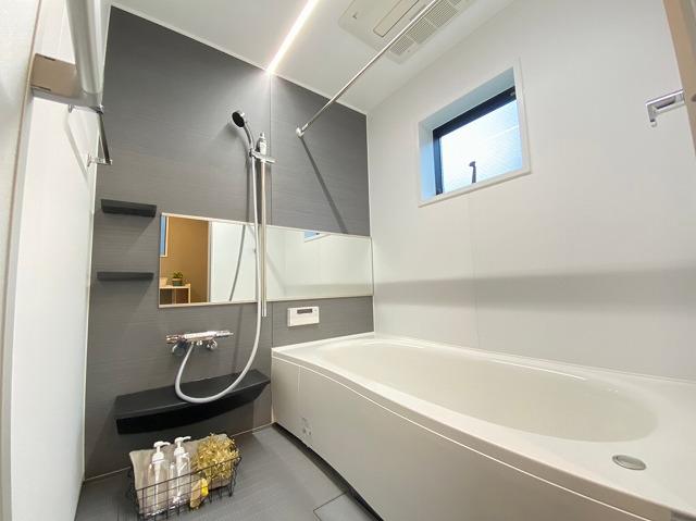 \同仕様写真/広い浴室で一日の疲れをリフレッシュ