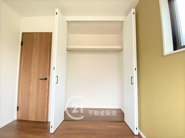 各居室収納スペースありで、ちらからない家を実現します!