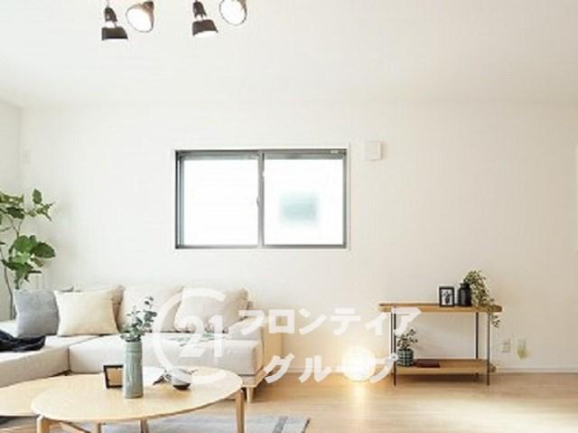 \同社施工例/室内のデザイン性が高く、インテリアもオシャレに仕上がります