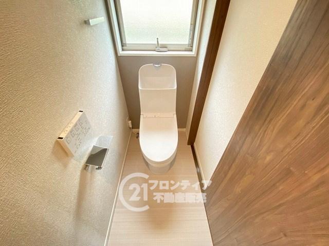 ウォシュレット付きトイレで快適!