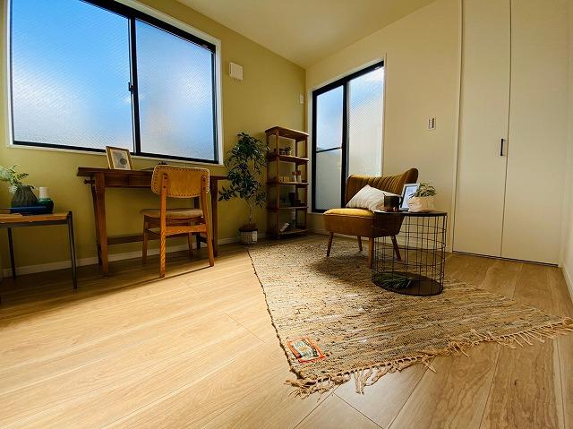 余ったお部屋は書斎はウォークインクローゼットとしてもお使いいただけます